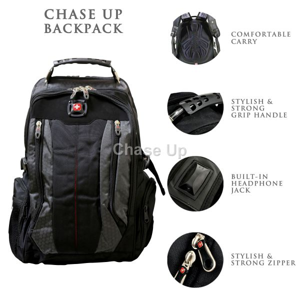 Gents Backpack 7620 TI-019 Imp (Gray)